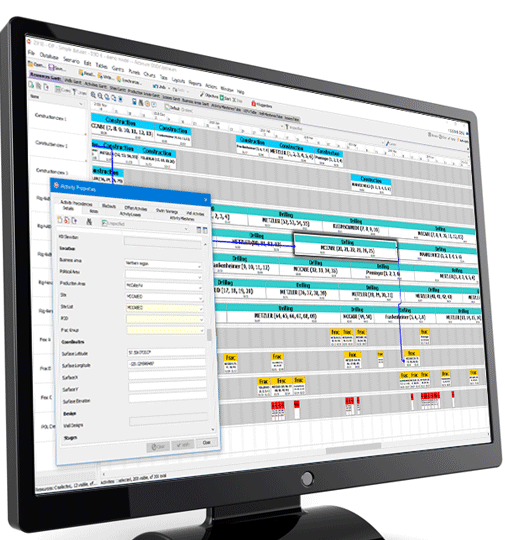 Actenum DSO Integrated Scheduling Software Image 2